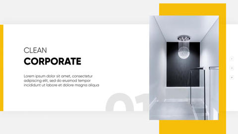 Clean Corporate - Modern Presentation After Effects Template