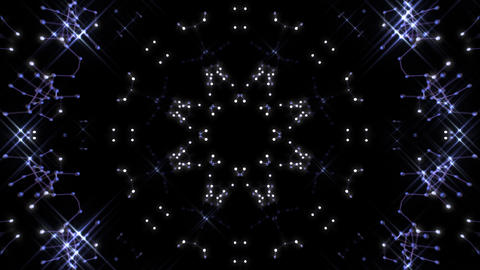 Kaleidoscope illumination neon Ch2 neon black 4k Animation