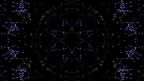 [alt video] Kaleidoscope illumination neon Cv2 neon black 4k