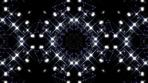 Kaleidoscope illumination neon Cv2 neon black 4k Animation