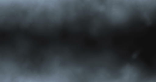 smoke slowly floating like fog or clouds through space against Footage