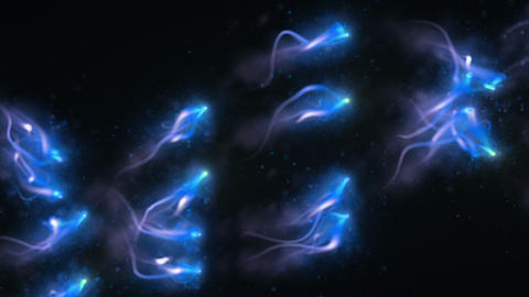 Abstract Light Particles HD 04 Videos animados