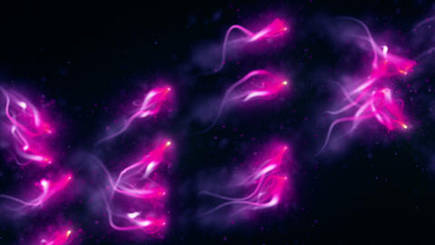 Abstract Light Particles HD 05 Videos animados