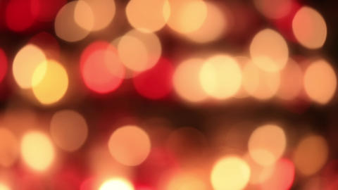 Defocused candle lights Footage