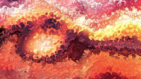 Abstract animated paint loop colorful sunset Animation