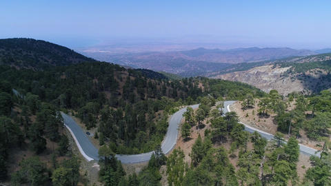 Cyprus Mountains Drone Colletion 1