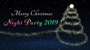 【プラグイン不要】クリスマスパーティのイベントにオススメのオープニング動画 Opening video for a Christmas After Effectsテンプレート