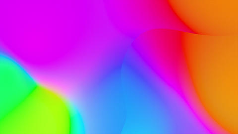Abstract Fluid Gradient Wavy Prism CG動画
