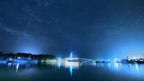 Jeju Seogwipo night time-lapse UHD Footage