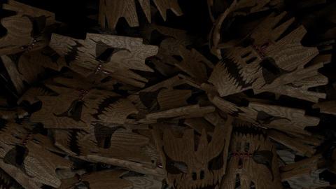 Voodoo mask transition Animation