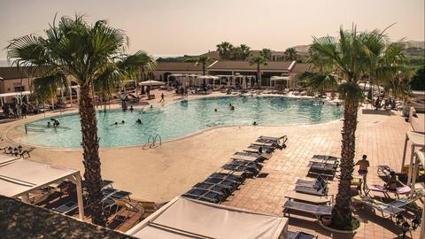 Resort Pool Time Lapse Footage