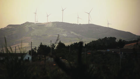 Wind Energy production Footage