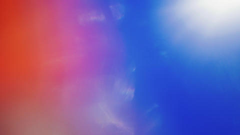 Vibrant trendy dynamic futuristic iridescent pattern. Red and blur tints Footage