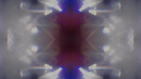 Seamless psychedelic futuristic futuristic glittering pattern, kaleidoscope Live Action