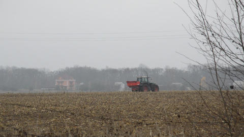 Tractor In The Field 1
