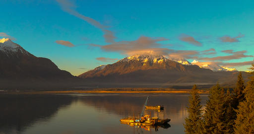 Barges on anchor Fotografía