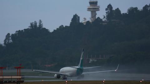 SilkAir Boeing 737 departure GIF