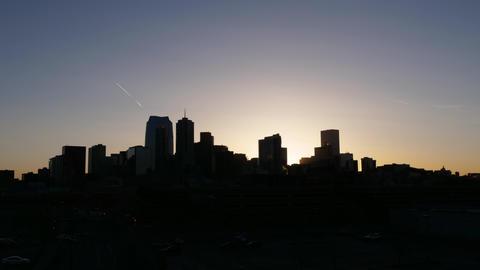 Denver Colorado Sunrise Timelapse Zoom In GIF