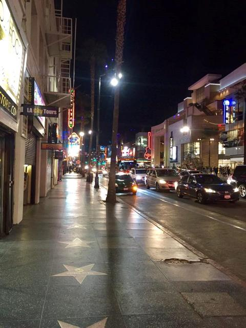 Night in Hollywood Photo