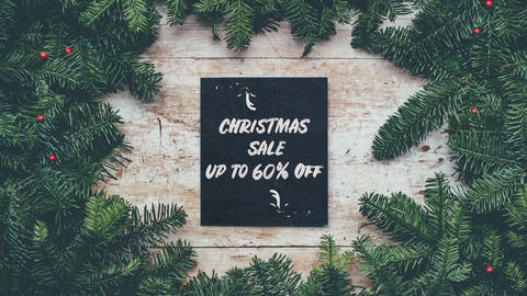 Christmas Sale Up To 60 Percent Off Animation