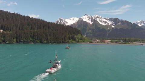 Commercial salmon fishing Fotografía
