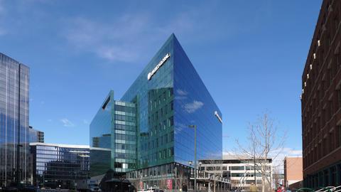 Liberty Global Building in Denver GIF