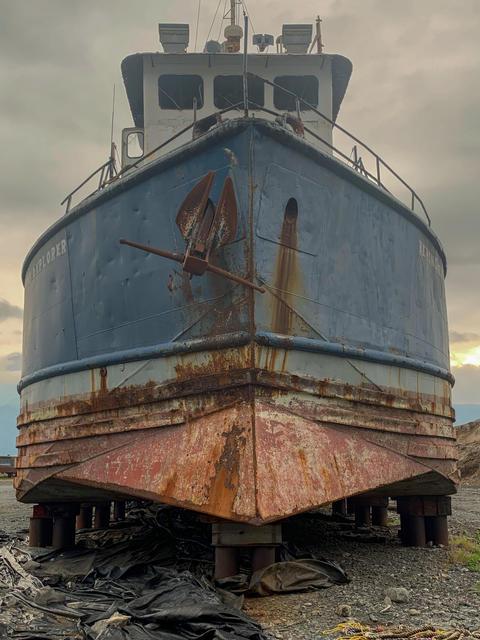 Abandon ship in Alaska Fotografía