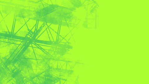 green Mechanical style background フォト