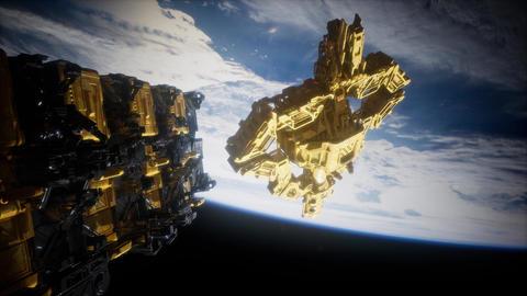 Alien Spaceship Armada Nearing Earth ビデオ