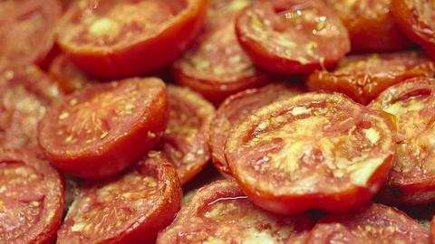 Pot of Sliced Tomato Archivo