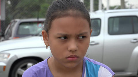 Sad or Depressed Girl Stock Video Footage