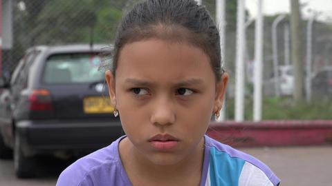 Sad or Depressed Girl, Live Action