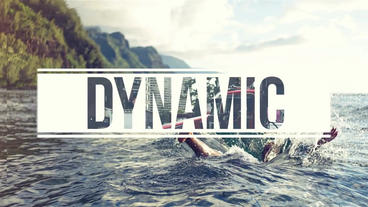 Dynamic Slideshow After Effects Project