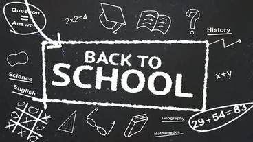 Back to school After Effects Project