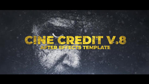 Cine Credit V 8 After Effects Template