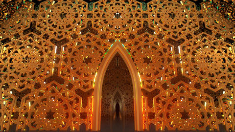 Middle Eastern Art Architecture Animation