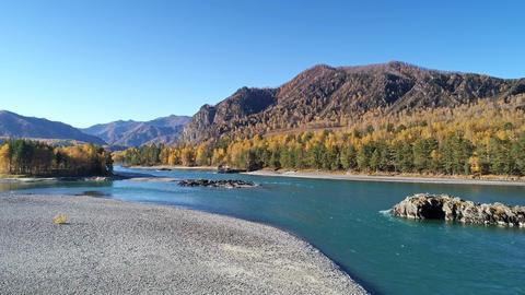 Powerful Mountain River Archivo