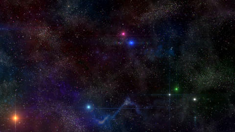 Deep Space - Constellation 2 Animation