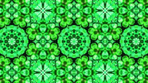 Organic Textured Kaleidoscope 03 Animation