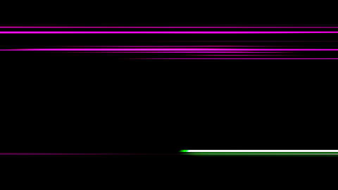 Abstract Animation Of Energy Lines Animation