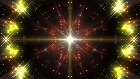 Kaleidoscope illumination neon Ch3 green1 4k CG動画