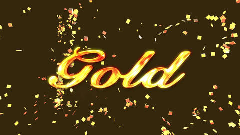 Receiving the gold prize After Effects Template