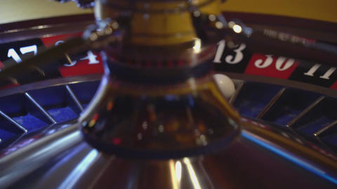 Casino game Roulette - 13 black wins Live Action
