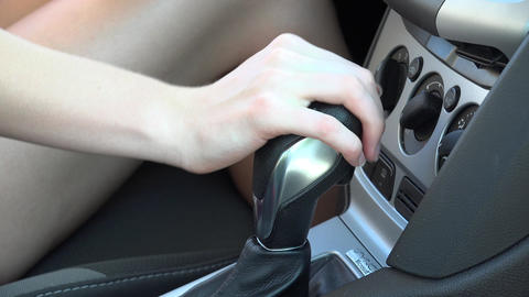 Shift Lever of Automobile Live Action