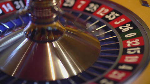 Spinning Roulette wheel - 3 red wins Live Action