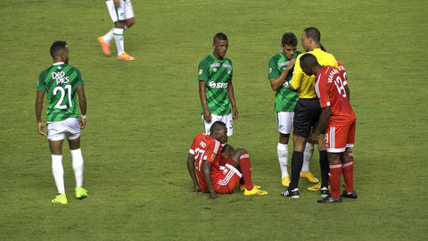 Referee Gives Penalty Card Footage