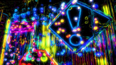 Acid Stop Sign 02 Animation