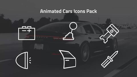 Animated Cars Icons Pack 모션 그래픽 템플릿