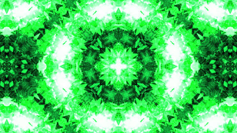 VJ Technotronic Gems 3 - Green Animation
