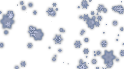 Magic snow (with alpha, loopable) Animation